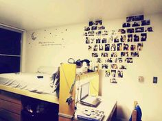 Dorm idea picture heart- HAHAHAHAHAH i attempted to do this this year