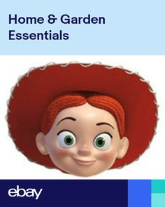 Bo Peep from Toy Story 4 Official Single 2D Card Party Face Mask