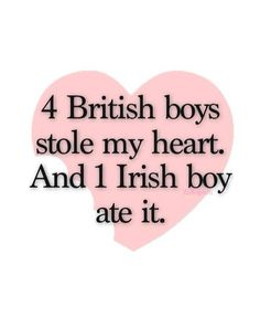 Directioner ∞ I love my Irish boy