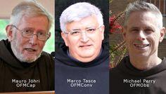 Los tres ministros generales franciscanos se reunirán en Madrid en un paso más hacia la unidad.
