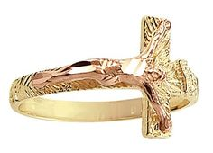 Cross Crucifix Jesus Ring 14k Yellow Gold Band Religious, Size 7.5 Has :               (1)       Good Reviews From Customers. Check All Reviews, Details, Features, and How To Get it with Best Price/Discount Here:   http://short.shopingzon.com/61MGC