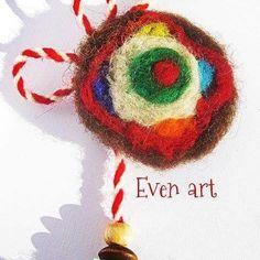 Martenitsa Мартеница Baba Marta, Peppa Pig, Crochet Earrings, Christmas Ornaments, Holiday Decor, Spring, Handmade, Diy, Home Decor