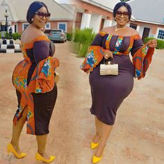 Latest Ovation Ankara Styles: 55 dazzling and stylish Ankara designs for Plus size Ladies Short African Dresses, Latest African Fashion Dresses, African Print Dresses, African Print Fashion, Africa Fashion, Ankara Styles For Women, Plus Sise, Curvy Girl Outfits, African Traditional Dresses