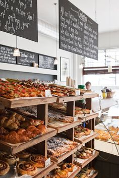 "I can almost smell the heavenly scents of this bakery, just like ""Sweet Delights.""  Real Patisserie,Kemptown Traders by Oliver Perrott, via Behance"