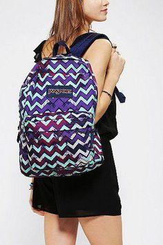 Jansport Zigzag Splatter Backpack  WomensShoulderbags Puppy Backpack 20228dc4c0d96