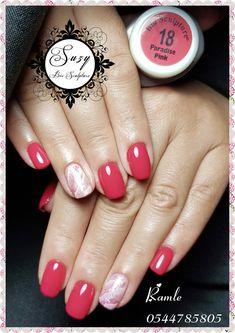 Bio Sculpture Gel Nails, Sculptured Nails, Pink Nails, Summer Nails, Beauty Makeup, Nail Polish, Make Up, Hair, Maquillaje