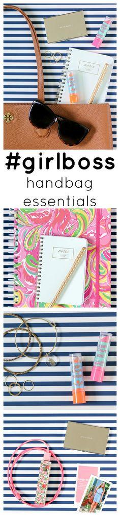 The handbag essentials that every #girlboss needs in her collection! | by @ashleynicholas at ashleybrookenicholas.com
