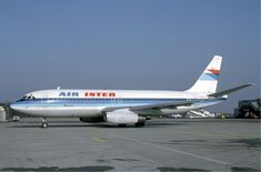 Air Inter Dassault Mercure at Basle - February 1985.jpg
