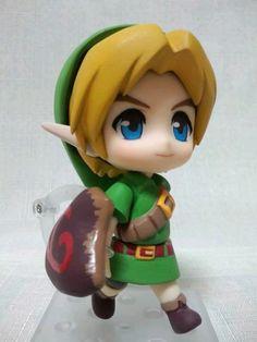 The legend of Zelda majoras mask Link nendroid