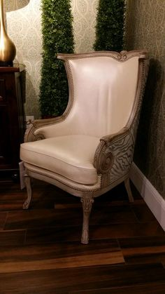 This chair has a one of a kind vintage contemporary look, the ...