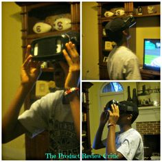 Review ~ VR KIX Virtual Reality Glasses/Headset for Smartphones  #ProductReviewParty