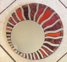 Mosaic Mirror Mini Celestial by SpoiledRockinMosaics on Etsy