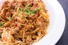 Mummon Nuudelibolognese - Mummon Koti, Pasta, Ethnic Recipes, Noodles, Ranch Pasta