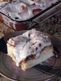 Thibeault's Table: Cinnamon Roll Cake