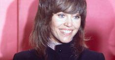 Golden Globes 2018: What Jane Fonda's 1972 Oscars Suit Can Teach Us About Jane Fonda, Feminism, Red Carpet, Teaching, Canning, Suits, Black, Golden Globes, Oscars