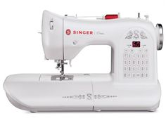 """The SINGER One™ Sewing Machine has an extra large sewing space, three stay-bright LED lights and a heavy duty interior METAL frame. Would love to have this for my """"Simple Fall Sewing"""" project as well as upcoming Christmas projects. Sewing Hacks, Sewing Crafts, Sewing Projects, Sewing Ideas, Sewing Patterns, Sewing Lessons, Sewing Tips, Crochet Patterns, Diy Projects"""