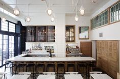 Homer Street Cafe & Bar - the completed project by Edison & Sprinkles and Ste. Marie Art + Design
