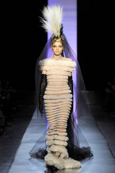 Robe de mariée Jean-Paul Gaultier Haute Couture Eté 2011