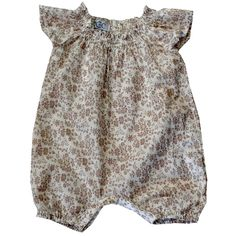 Baby girl one piece outfit by French designer Cordelia de Castelle - from summer 2012 collection - was sold at claradeparis.com