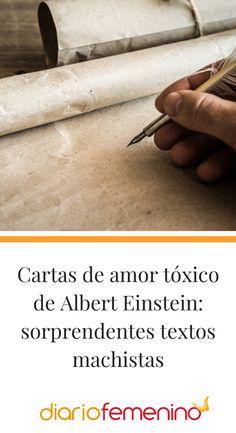 Albert Einstein fue un genio del mundo de la ciencia, pero en su vida personal no todo era de color de rosa... ¿Conoces sus cartas más tóxicas? 💌🤔  #einstein #cartasdeamor #amortoxico #cartasdeamortoxico #diariofemenino Albert Einstein, Color, Toxic Love, Texts, Pink, World, Love Letters, Theory Of Relativity, Writing Letters