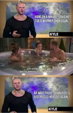 Kyle, Charlotte and Holly