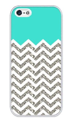 Chevron and teal phone case  LOVE it! buy a clear I phone case and just slip in the design (print of the internet or buy).