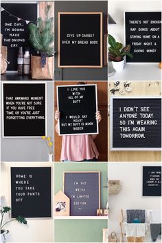 15 x de leukste letterbord quotes – One Hand in my Pocket 15 x the nicest letterboard quotes Word Board, Quote Board, Message Board, Felt Letter Board, Felt Letters, Felt Boards, Sign Quotes, Me Quotes, Funny Quotes