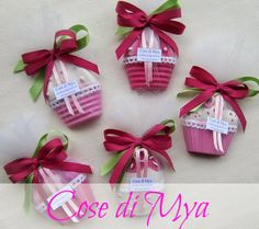 cupcakes in gesso