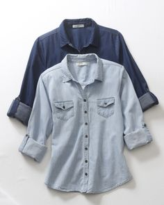 Chambray blouses