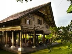 Villa in Umalas, Bali Bali Luxury Villas, Tropical Architecture, Bamboo House, Luxury Accommodation, Luxury Holidays, Architectural Features, House Roof, House In The Woods, South Pacific