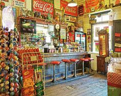 Old General Store Soda Fountain Gruene Tx Photograph by Rebecca Korpita Old General Stores, Old Country Stores, Mercado Madrid, Boutique Deco, Canvas Art, Canvas Prints, Soda Fountain, Old Signs, Store Displays