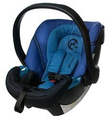 Cybex Aton Infant Car Seat (2013) - Heavenly Blue - http://www.strollersreview.net/cybex-aton-infant-car-seat-2013-heavenly-blue/