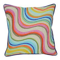 Multi Striped Pillow