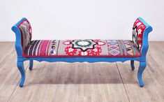Bancheta Marquis Turcoaz Love Patchwork Sofa, Gray Sofa, Upholstered Bench, Turquoise Color, Wood Construction, Hardwood, Asia, Marquis, Furniture