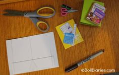 printable doll sized school supplies