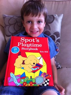 Thomas loves Spot books by Eric Hill & now reads a story to me when I take him up to bed! #passabook