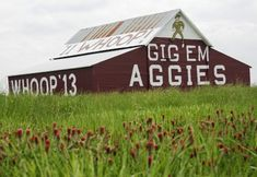 Take a short drive out to the famous Aggie Barn!