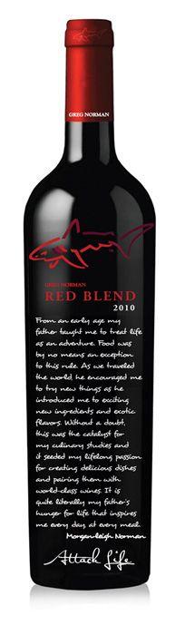 Greg Norman Estates Story Bottle on Behance