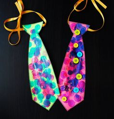 Silly Dad Ties. Wear these with pride, Dads. #fathersday