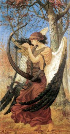 Titania's Awakening, 1896, by Charles Sims♥