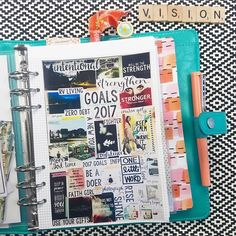 "1,936 Likes, 45 Comments - Cori Spieker  (@theresetgirl) on Instagram: ""Day 1: My Vision Board. After making a board I LOVED for 2017, I decided to photograph it, resize…"""