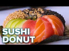 Muotoile riisi donitsin muotoiseksi ja valmista elämäsi parhaimman makuista sushia – Herkkusuu.fi