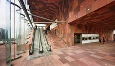 MAS - Museum aan de Stroom | Neutelings Riedijk Architects; Photo: Sarah Blee © Neutelings Riedijk Architects | Archinect