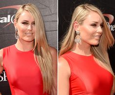 Lindsey Vonn looked amazing at the ESPY Awards in Los Angeles, Calif. on July 15. Her hair was long, shiny and frizz-free — copy her exact hairstyle below!