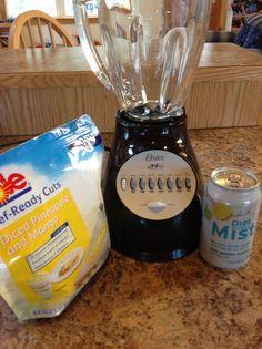 0 PointsPlus Weight Watchers Fruit Slushy Even the kids love this!