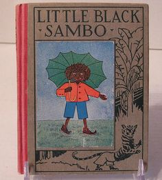 Altemus Wee Book LITTLE BLACK SAMBO Vintage Antique Collectible Childrens Story