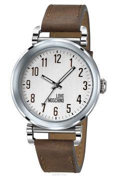 Наручные часы женские Moschino Time To Cook!, цвет: коричневый. MW0452