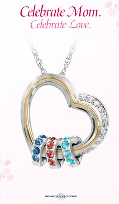 Give Mom a special piece of your heart this Mother's Day! Personalize this beautiful family pendant with up to 8 Swarovski crystal birthstone hearts for a one-of-a-kind gift she will always cherish. As always, this Bradford Exchange exclusive is backed by the best guarantee in the business, with jewelry returns up to 120 days and free return shipping, so you can always shop with confidence. Free personalization!