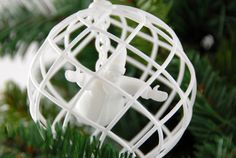 3D printed christmas decoration santa