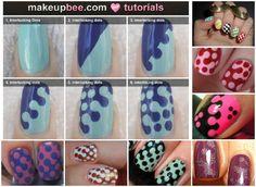 INTERLOCKING NAILS     Source: makeupbee.com